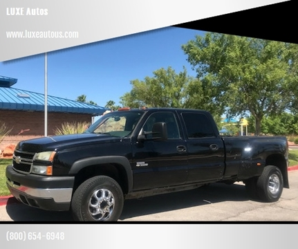 2007 Chevrolet Silverado 3500 Classic for sale at LUXE Autos in Las Vegas NV