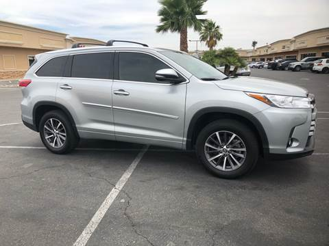 2018 Toyota Highlander for sale at LUXE Autos in Las Vegas NV