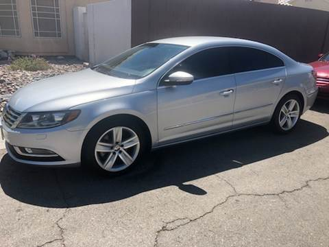 2013 Volkswagen CC for sale at LUXE Autos in Las Vegas NV