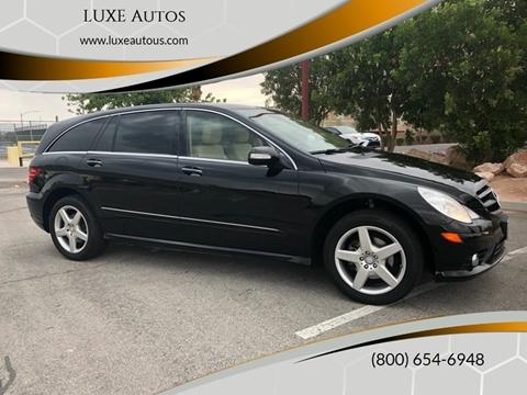 Mercedes Benz Las Vegas >> 2010 Mercedes Benz R Class For Sale In Las Vegas Nv