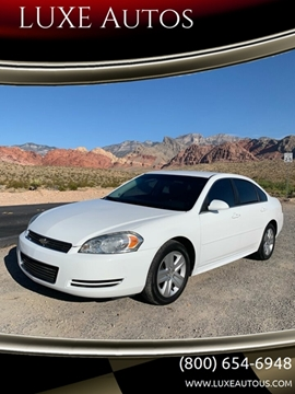 2011 Chevrolet Impala for sale at LUXE Autos in Las Vegas NV