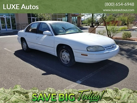 1999 Chevrolet Lumina for sale at LUXE Autos in Las Vegas NV