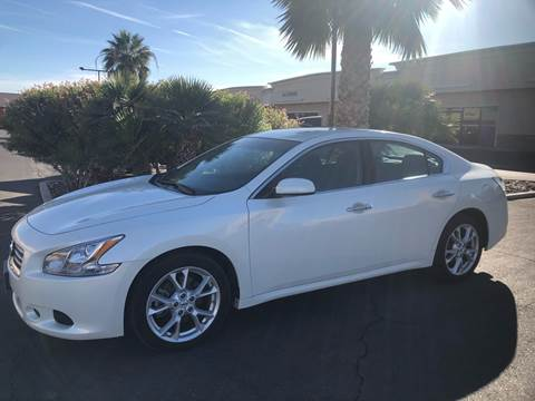 2014 Nissan Maxima for sale at LUXE Autos in Las Vegas NV