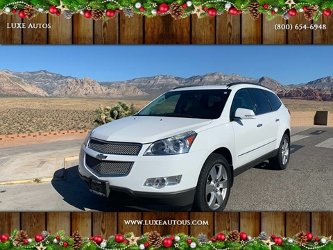 2009 Chevrolet Traverse for sale at LUXE Autos in Las Vegas NV