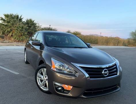 2015 Nissan Altima for sale at LUXE Autos in Las Vegas NV