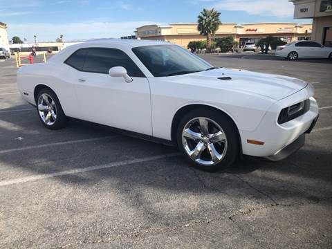 2013 Dodge Challenger for sale at LUXE Autos in Las Vegas NV