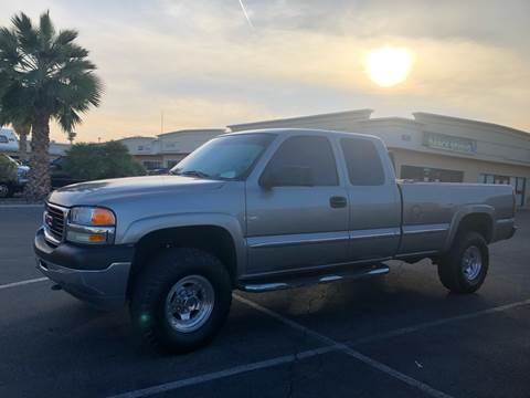 2001 GMC Sierra 2500HD for sale at LUXE Autos in Las Vegas NV
