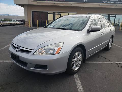 2006 Honda Accord for sale at LUXE Autos in Las Vegas NV