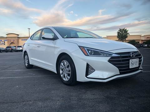 2019 Hyundai Elantra for sale at LUXE Autos in Las Vegas NV