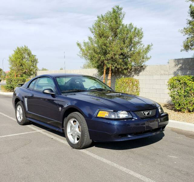 2002 Ford Mustang for sale at LUXE Autos in Las Vegas NV