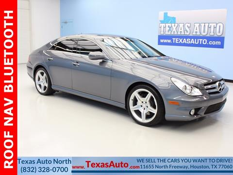 2011 Mercedes-Benz CLS for sale in Houston, TX