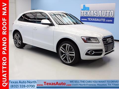 2014 Audi SQ5 for sale in Houston, TX