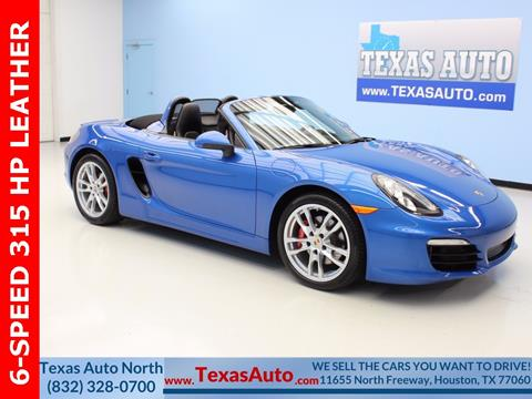 2014 Porsche Boxster for sale in Houston, TX