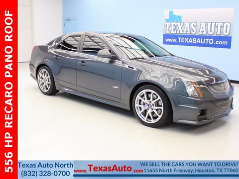 2011 Cadillac CTS-V for sale in Houston, TX