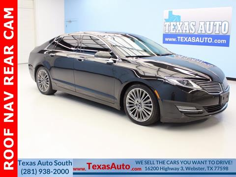 2013 Lincoln MKZ for sale in Houston, TX