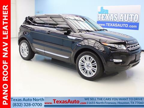 2013 Land Rover Range Rover Evoque for sale in Houston, TX