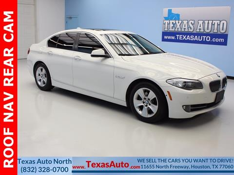 2013 BMW 5 Series for sale in Houston, TX