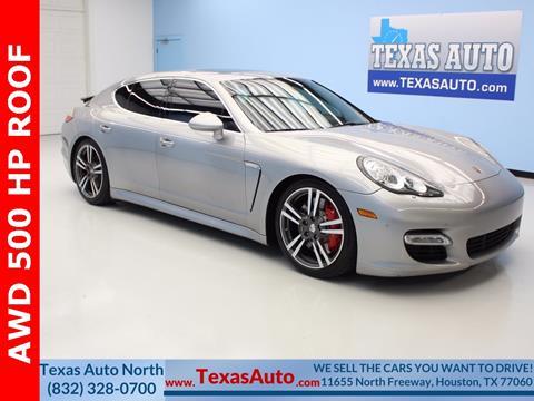 2011 Porsche Panamera for sale in Houston, TX