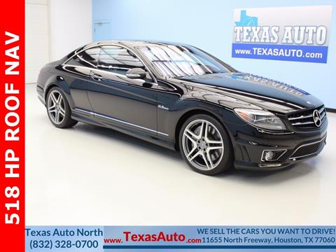 2009 Mercedes-Benz CL-Class for sale in Houston, TX