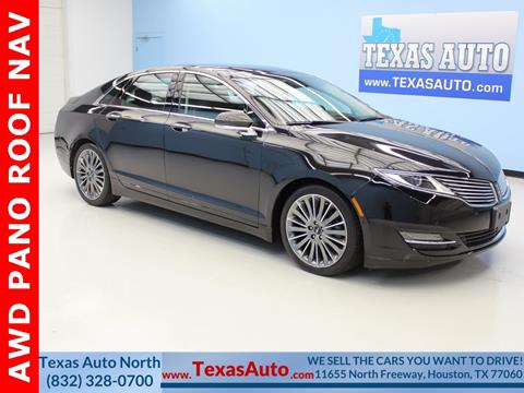 2014 Lincoln MKZ for sale in Houston, TX
