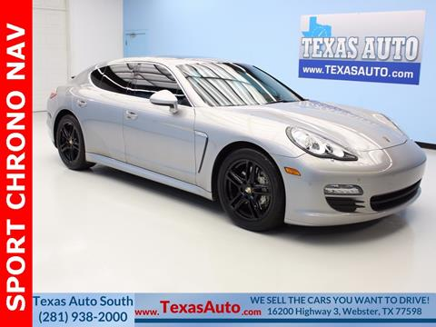 2010 Porsche Panamera For Sale In Houston, TX