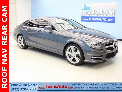 2013 Mercedes Benz CLS For Sale In Houston, TX
