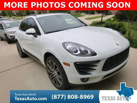 2017 Porsche Macan for sale in Houston, TX