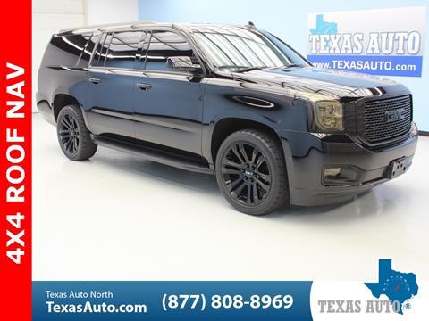 2017 GMC Yukon XL for sale in Houston, TX