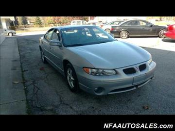 2000 Pontiac Grand Prix for sale in Lambertville, MI