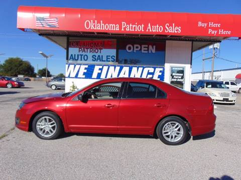 2010 Ford Fusion for sale in Edmond, OK