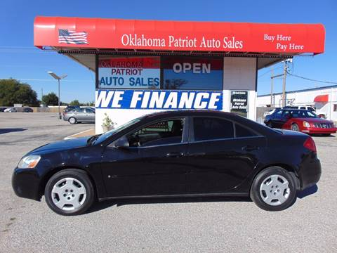 2007 Pontiac G6 for sale in Edmond, OK