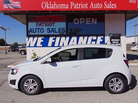 2013 Chevrolet Sonic for sale in Edmond, OK