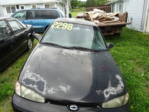 2001 Chevrolet Prizm for sale in Bloomsburg, PA