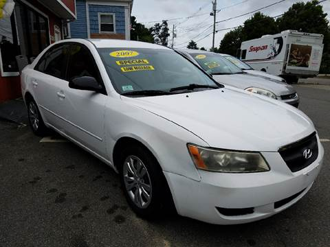 2007 Hyundai Sonata for sale in West Bridgewater, MA