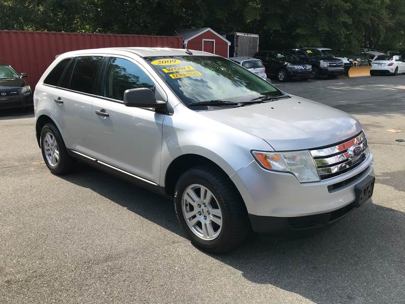 Ford Edge Se Dr Crossover West Bridgewater Ma