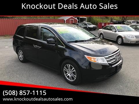 2011 Honda Odyssey for sale in West Bridgewater, MA