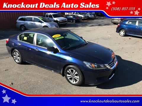 2013 Honda Accord for sale in West Bridgewater, MA