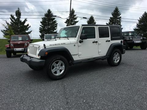 2010 Jeep Wrangler Unlimited for sale in Manheim, PA