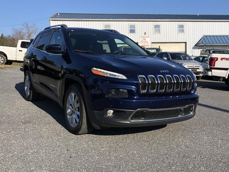 2015 jeep cherokee 4x4 limited 4dr suv in manheim pa best buy pre owned. Black Bedroom Furniture Sets. Home Design Ideas