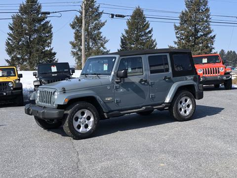 Used Jeeps Near Me >> 2014 Jeep Wrangler Unlimited For Sale In Manheim Pa