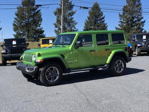 2018 Jeep Wrangler Unlimited for sale in Manheim, PA