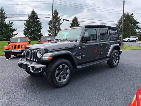 Jeep Wrangler For Sale In Pa >> 2018 Jeep Wrangler Unlimited For Sale In Manheim Pa