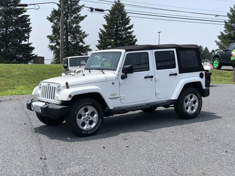 2015 Jeep Wrangler Unlimited for sale in Manheim, PA