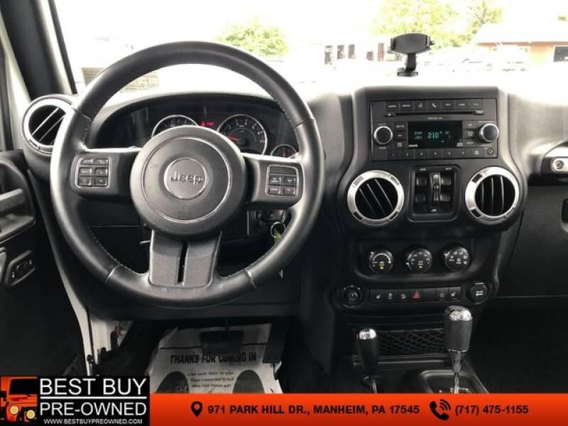 2015 Jeep Wrangler Unlimited 4x4 Sahara 4dr SUV - Manheim PA