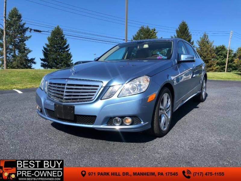 2011 Mercedes-Benz E-Class AWD E 350 Luxury 4MATIC 4dr Sedan - Manheim PA