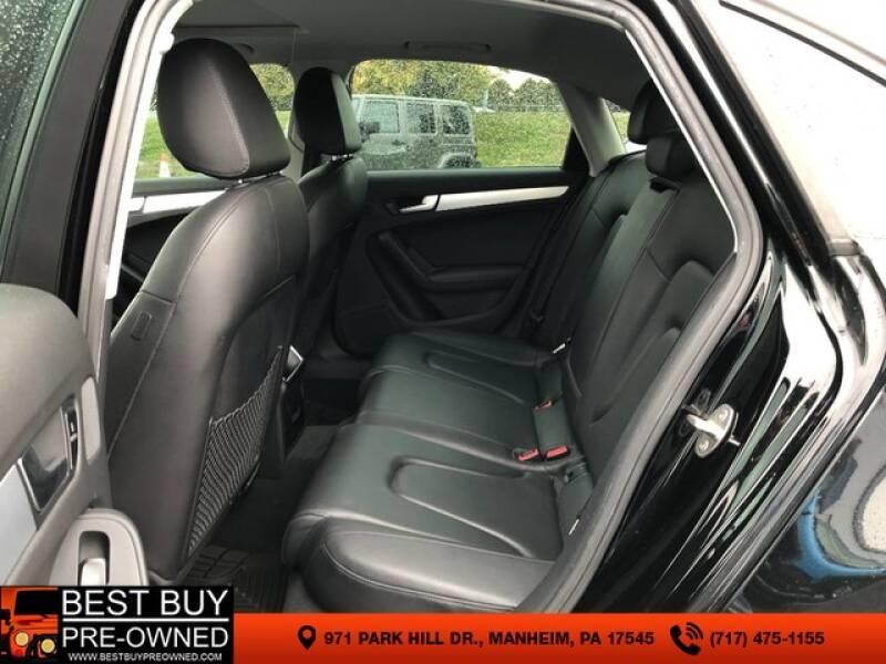 2012 Audi A4 AWD 2.0T quattro Premium 4dr Sedan 8A - Manheim PA