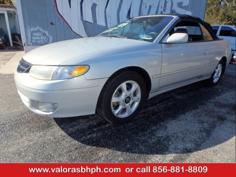 2001 Toyota Camry Solara SLE V6 2dr Convertible   Glassboro NJ