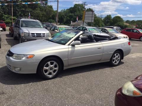 2001 Toyota Camry Solara for sale in Glassboro, NJ