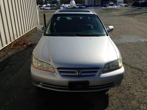 2002 Honda Accord for sale in Springfield, MA