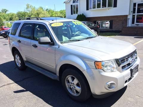 2011 Ford Escape for sale in Whitman, MA